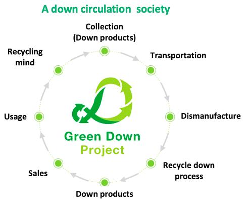 A down circulation society
